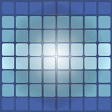 Base. Background of blue squares, color palette, shades of blue Stock Photography