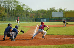 Base-ball photographie stock
