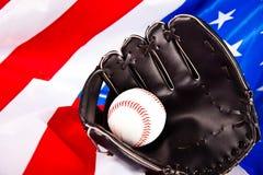 Base-ball américain Image libre de droits