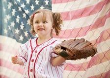 Base-ball ancien photo libre de droits