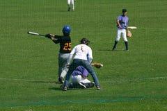 Base-ball anglais images libres de droits