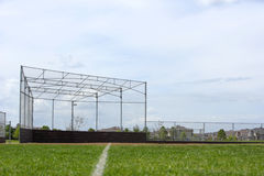 Base ball backstop Stock Images