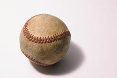 Base-ball bien usé Image stock