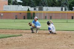 Base-ball de fac de lycée Photos libres de droits