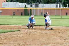 Base-ball de fac de lycée Photographie stock libre de droits