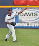 Base-ball 2014 de Ligue Mineure Photos libres de droits