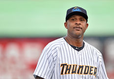 Base-ball 2014 de Ligue Mineure cc Sabathia Photo stock