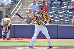 2015 base-ball de NCAA - TCU @ WVU Image stock