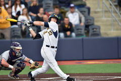 2015 base-ball de NCAA - WVU-TCU Images stock