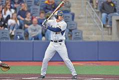 2015 base-ball de NCAA - WVU-TCU Photos libres de droits