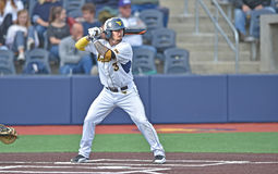 2015 base-ball de NCAA - WVU-TCU Image libre de droits