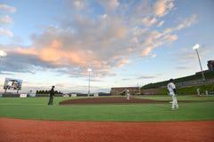 2015 base-ball de NCAA - WVU-TCU Photographie stock libre de droits