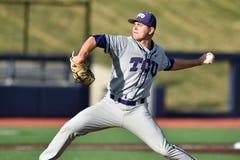 2015 base-ball de NCAA - WVU-TCU Photographie stock