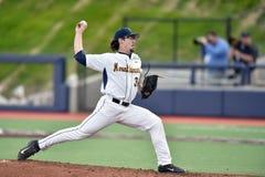 2015 base-ball de NCAA - WVU-TCU Photo stock