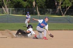 Base-ball de petite ligue Images libres de droits