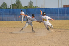 Base-ball de petite ligue Images stock