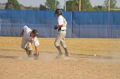 Base-ball de petite ligue Image libre de droits
