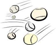 Base-ball de vol Image stock