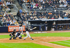 Base-ball de Yankees du Colorado les Rocheuses X New York Images stock