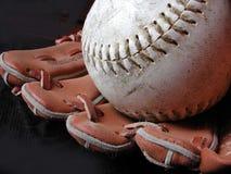 Base-ball et gant image libre de droits
