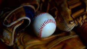 Base-ball et gants photographie stock libre de droits