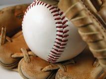 Base-ball et mitaine image libre de droits