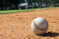 Base-ball et zone image stock