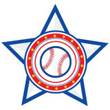 base-ball Etats-Unis Image stock