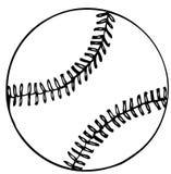 Base-ball neuf de vecteur Image stock