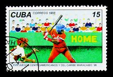 Base-ball, serie de Maracaïbo '98, vers 1998 Photo stock