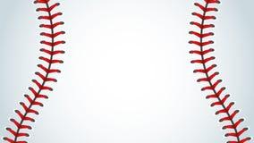 Base-ball, sport, milieux Illustration de Vecteur