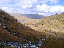 At the base of Blea Rigg, Lake District Stock Photography