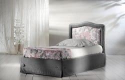 Base in camera da letto minimalista Fotografia Stock