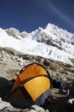 Base camp Alpamayo Stock Photography