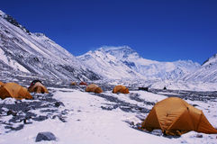 Base Camp of Mount Everest royalty free stock images