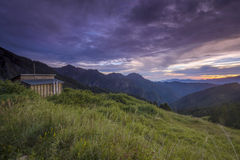Base Camp Syue Mountain, Snow Mountain, Taiwan Royalty Free Stock Photography