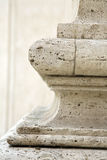 Base of column in Rome Royalty Free Stock Photos