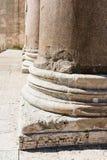 Base of columns, Pantheon Rome, Royalty Free Stock Image