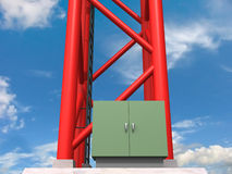 Base d'antenne Photo stock
