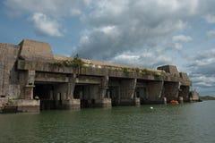base d'U-bateau photos stock