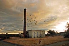 Base da força aérea abandonada Imagens de Stock