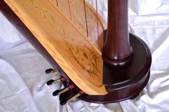Base da harpa do pedal Imagens de Stock Royalty Free