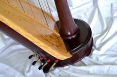 Base da harpa do pedal Fotografia de Stock