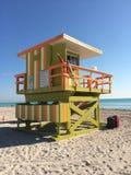 Base das poupanças de vida em Miami, EUA imagens de stock