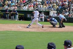 Base de Brian Dozier Minnesota Twins Second Imagem de Stock Royalty Free