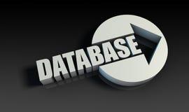Base de dados Imagem de Stock Royalty Free