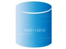 Base de dados/armazenamento Ilustração Stock