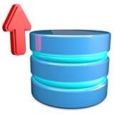 Base de datos de la carga por teletratamiento Imágenes de archivo libres de regalías