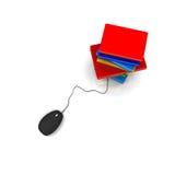 Base de datos del conocimiento Foto de archivo libre de regalías
