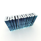 Base de données illustration stock